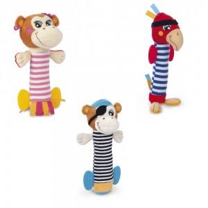 Мягкая игрушка-пищалка Пираты Canpol 68/034