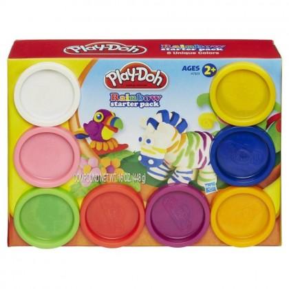 Play-Doh Пластилин для детской лепки: 8 баночек A7923