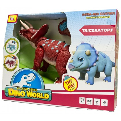Динозавр TRICERATOPS на радиоуправлении