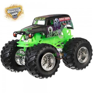Grave Digger Monster Jam Hot Wheels Машинка DRR57/BHP37