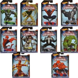 Машинки Hot Wheels серии Человек-паук CMJ79 в асс.