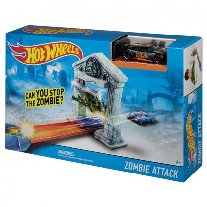 Трек Hot Wheels Атака зомби DJF03/BGH87
