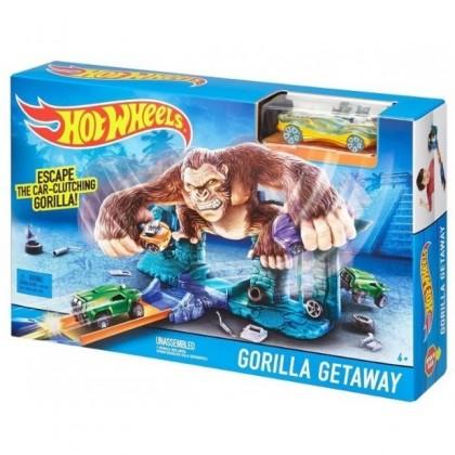 Hot Wheels Трек для машинок Gorilla Getaway