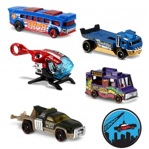 Машинки Hot Wheels DTV55 коллекции City Works