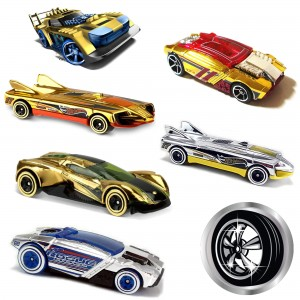 Машинки Hot Wheels DTV55 коллекции Super Chromes