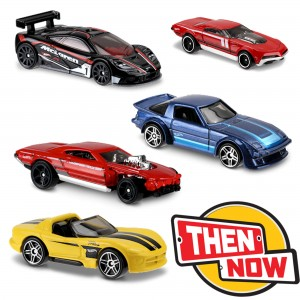 Машинки Hot Wheels DTV55 коллекции Then and Now