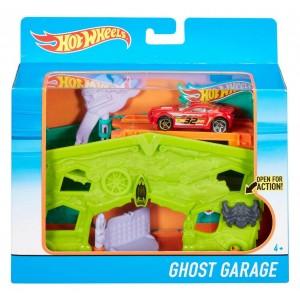 Игровой набор Hot Wheels Призрачный гараж DWL03/DWK99