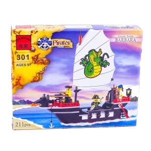 """Конструктор BRICK 301 """"Пиратский корабль"""""""