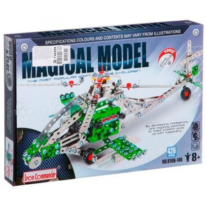 "Конструктор Iron Commander Magical Model 816B-146 ""Вертолет"""