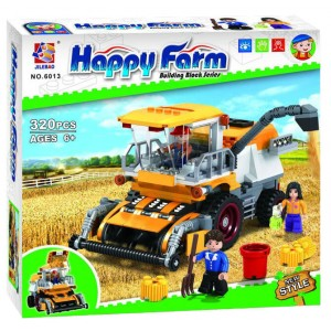 "Конструктор Jilebao Happy Farm ""Комбайн"" 6013"