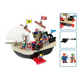 Игровой набор Пиратский корабль 24259-1 (22 предмета)