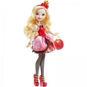 Эппл Уайт Кукла Ever After High Apple White BBD52