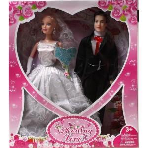 """Набор кукол """"Жених и невеста"""" B007"""