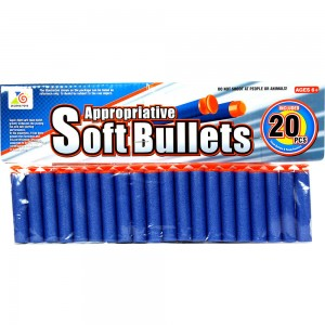 Набор мягких снарядов для бластеров 01*20