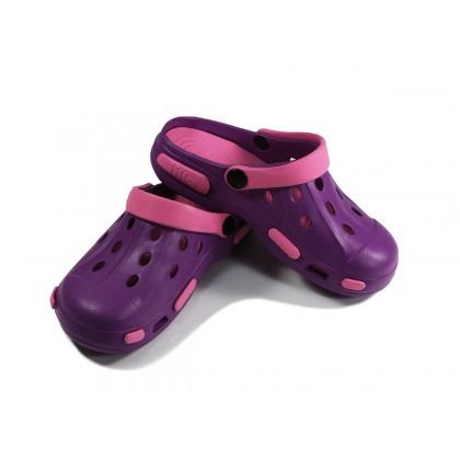 Сабо Tilla фиолетово-розовые