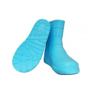 Сапоги Tilla подростковые голубые