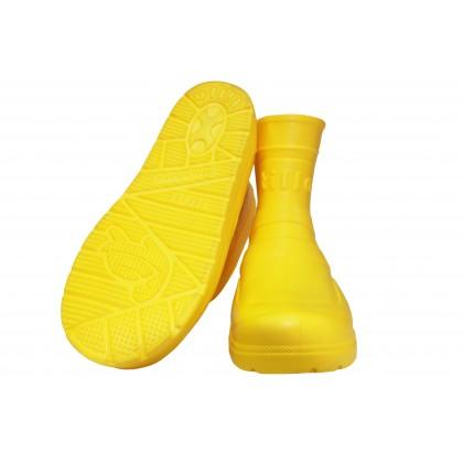 Сапоги Tilla подростковые жёлтые