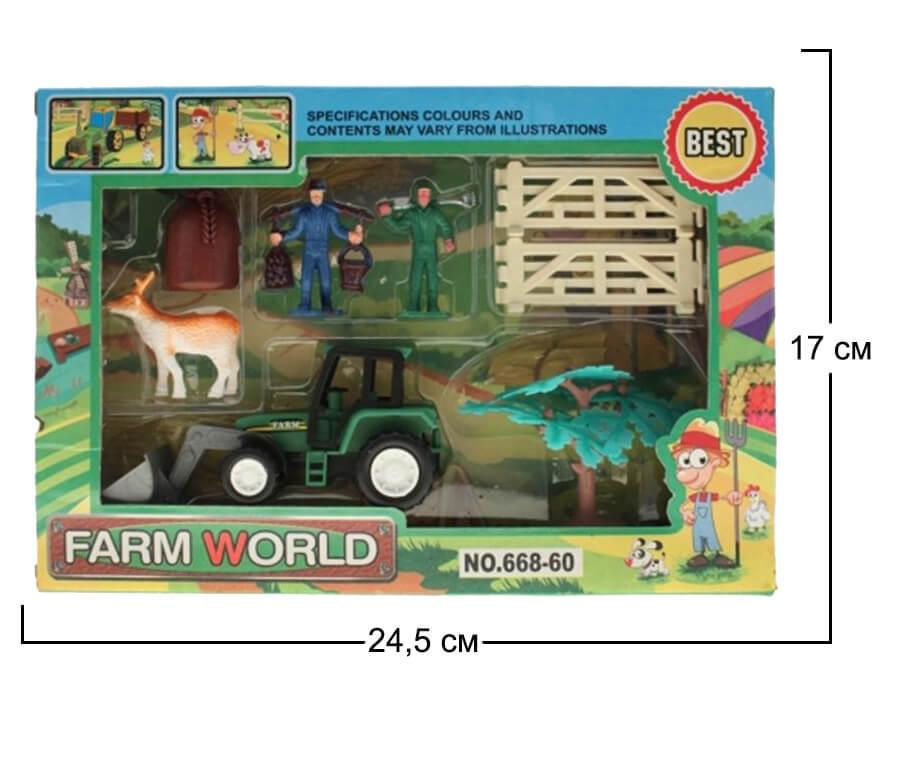 размеры упаковки набора территория фермеров