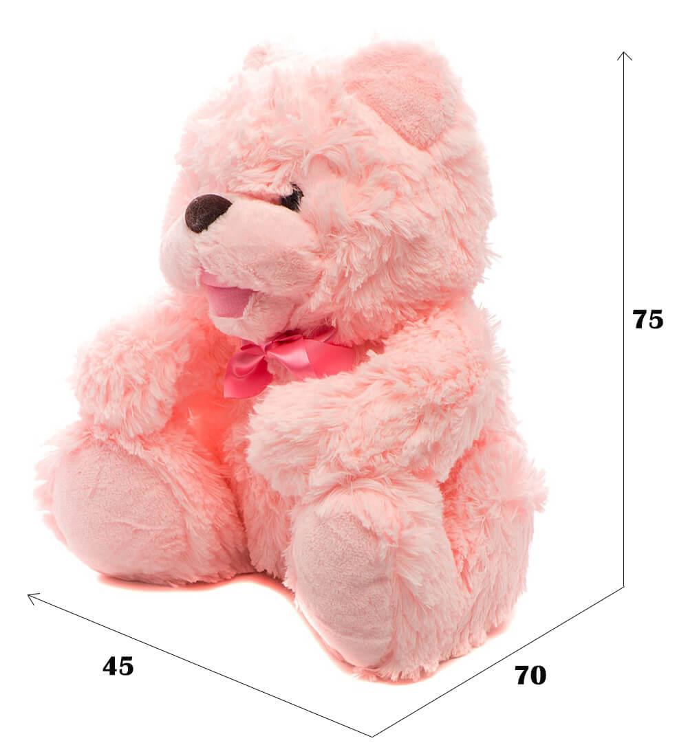 размеры медвежонка Лёня от Fancy