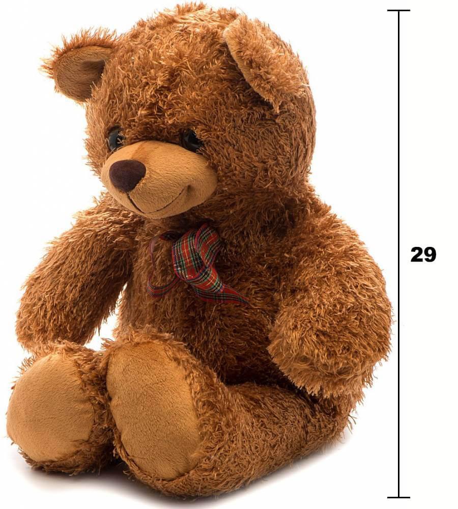 размеры медвежонка Сашки MCA01V от Fancy