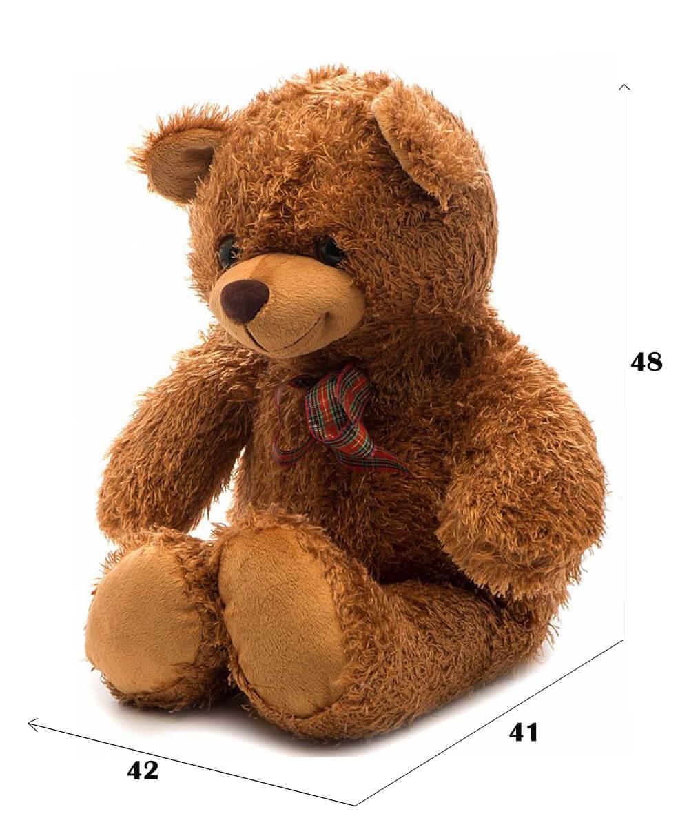 размеры медвежонка Сашки от Fancy 48 см