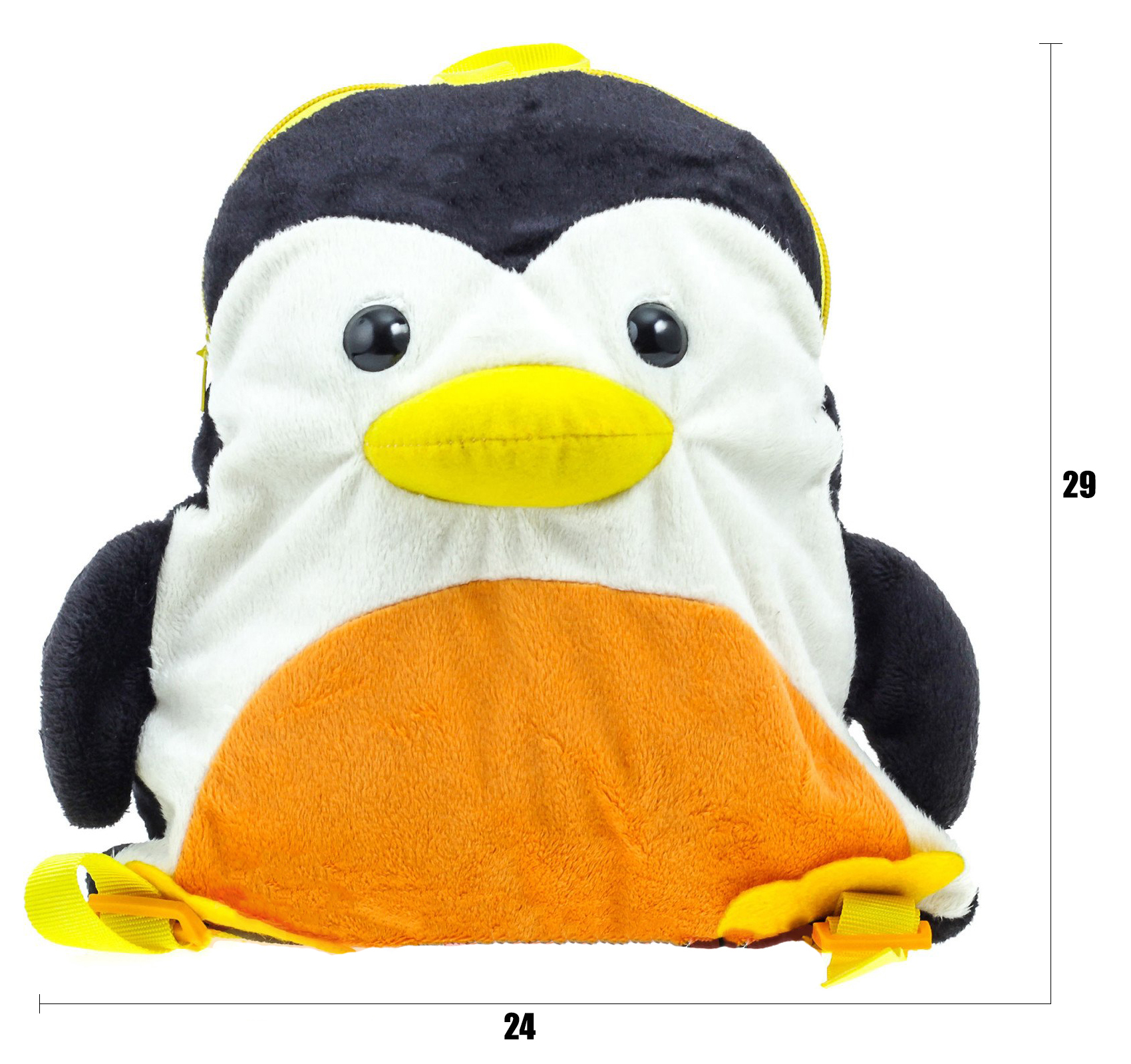 размеры сумки-рюкзака Пингвина