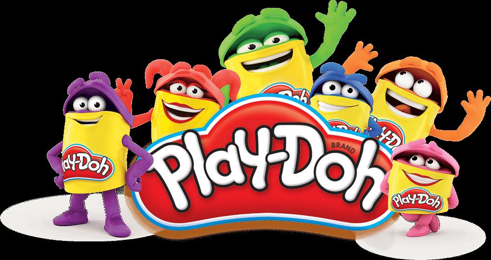 логотип Play-Doh от компании Hasbro