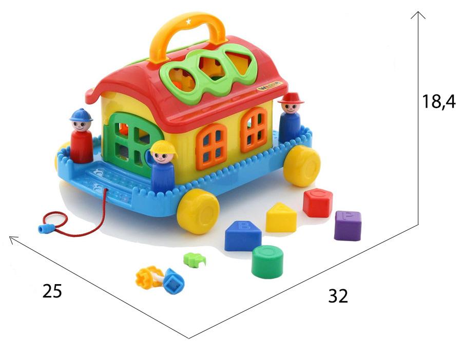 размеры сказочного домика