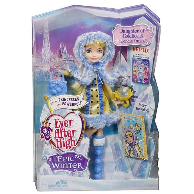 упаковка куклы Блонди Локс