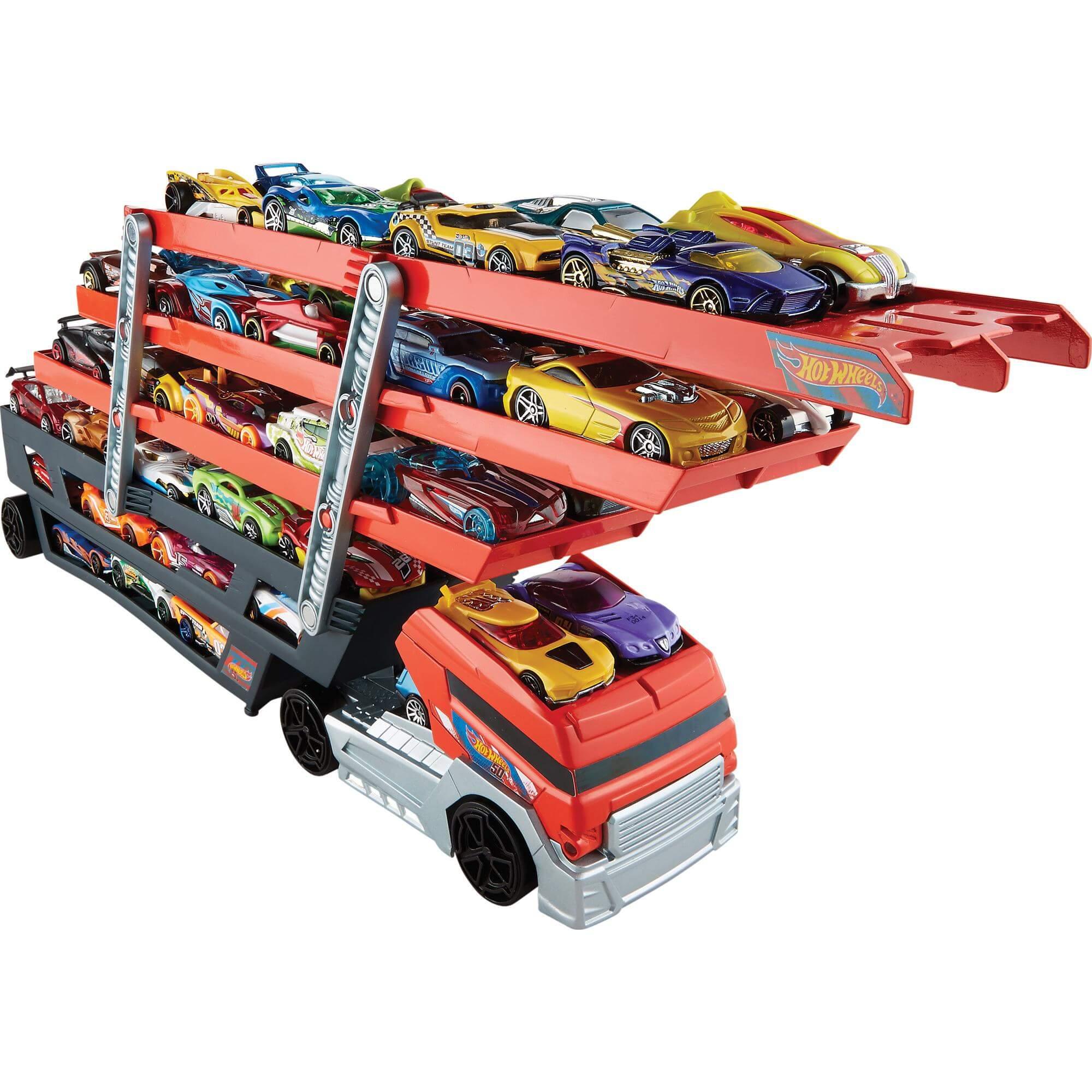 автовоз на 50 машинок hot wheels
