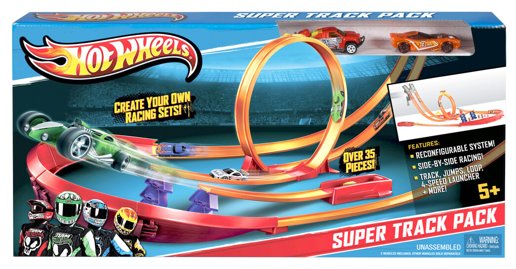 супер трек hot wheels