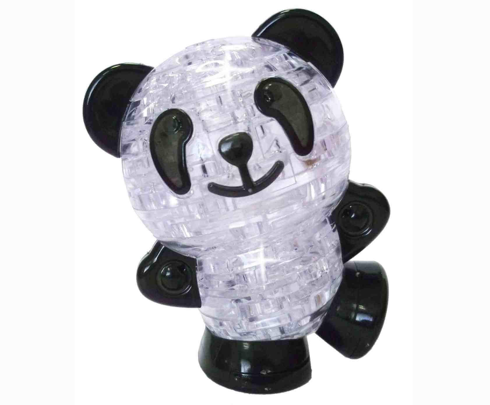 собранная модель панды