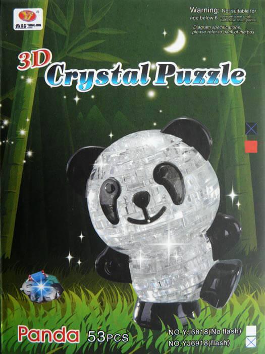 упаковка зд конструктора панда