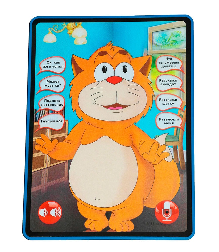 планшет кот кеся