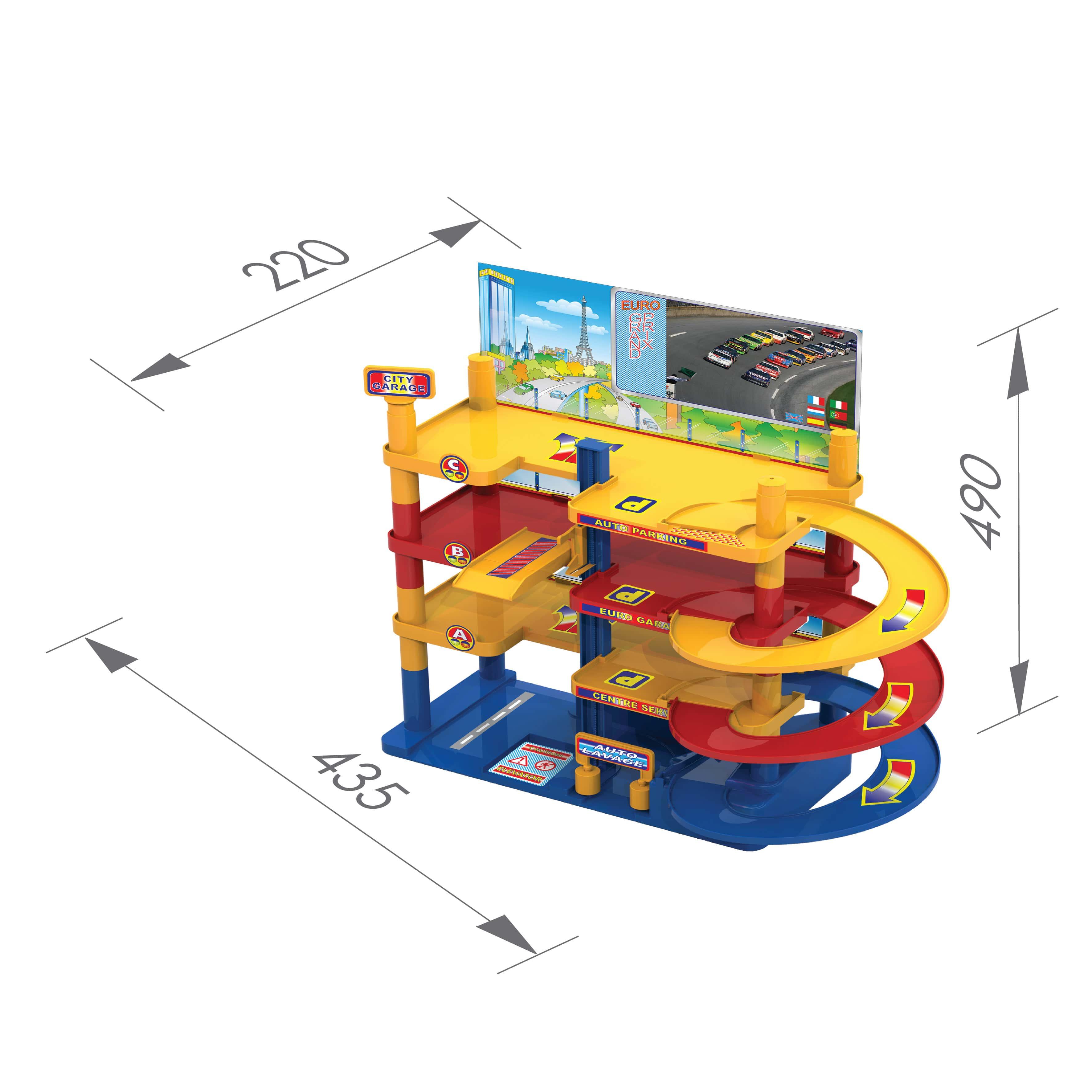 размеры городского гаража