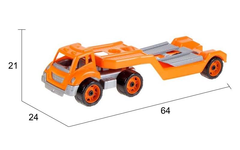 размеры автовоза с набором Технок
