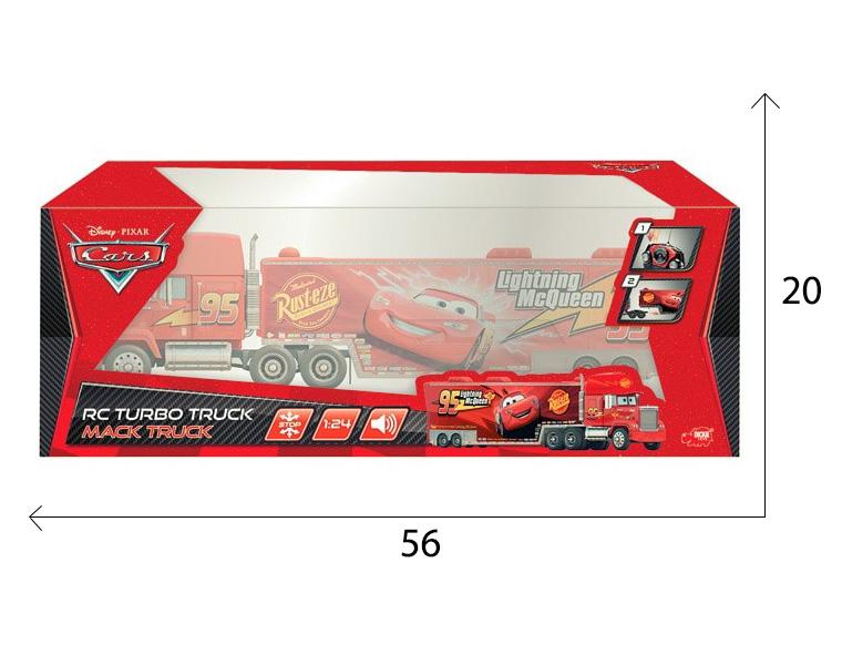 размеры упаковки грузовика Мака