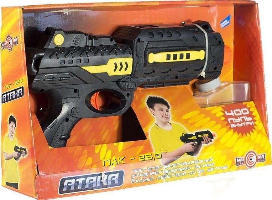 пистолет атака