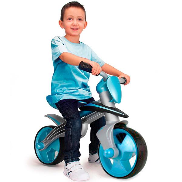 Купить детский беговел Injusa Jumper Blue 500 в Минске