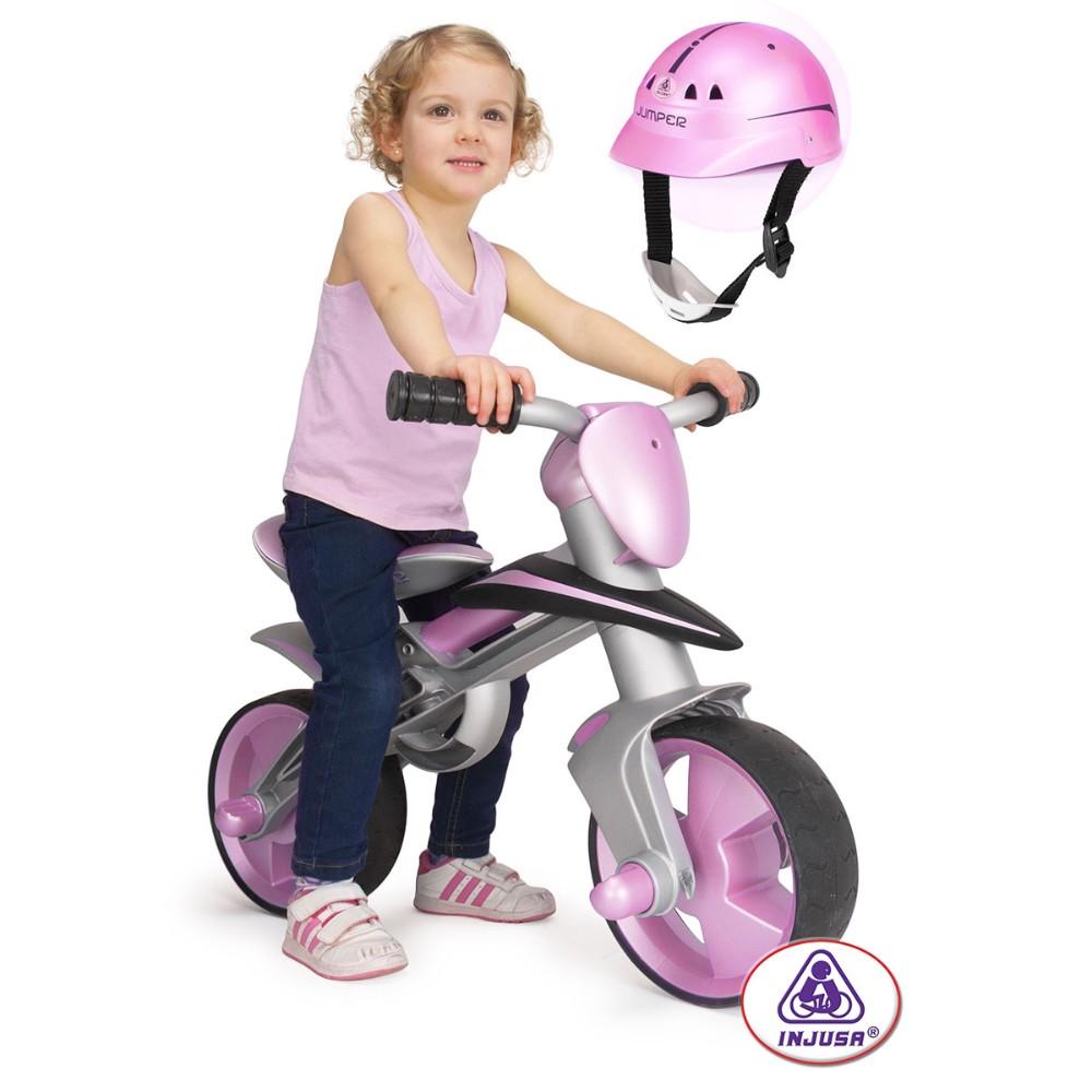 Купить детский беговел Injusa Jumper Pink 502 в Минске