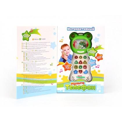 """Интерактивная игрушка """"МультиФон"""", T48-D180-FR352"""