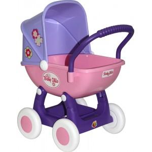 """Коляска для кукол """"Arina"""" 4-х колёсная 48202"""