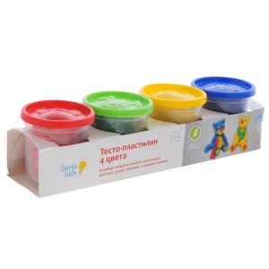 "Набор для лепки ""Тесто-пластилин 4 цвета"", TA1008"