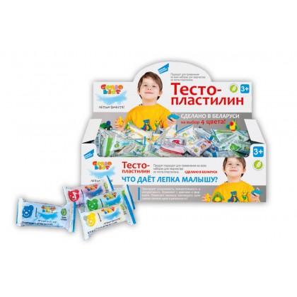 Тесто-пластилин в индивидуальной упаковке Genio Kids, TA1011