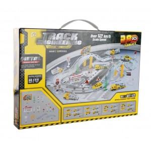 Автотрек Track Engineering с металлическими машинками CM557-22