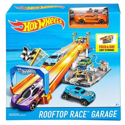 Трек Hot Wheels Гараж на крыше DRB29