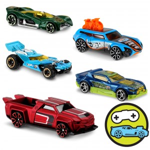 Машинки Hot Wheels DTV55 коллекции Digital Circuit