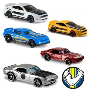 Машинки Hot Wheels DTV55 коллекции Muscle Mania