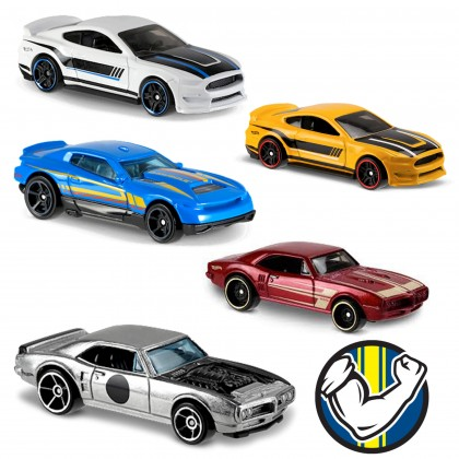 Машинки Hot Wheels коллекции Muscle Mania