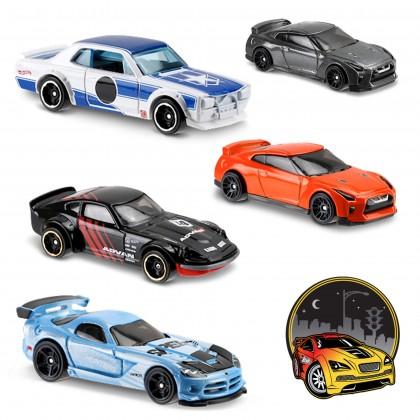 Машинки Hot Wheels коллекции Nightburnerz